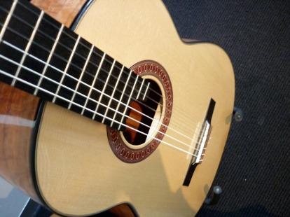 My beloved Allan Bull guitar